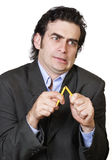 Büro-Angst Lizenzfreies Stockbild