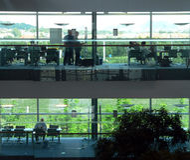 Büro-Arbeitsbereich Lizenzfreie Stockbilder