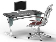 Büro-Art Hightech- Stockfoto
