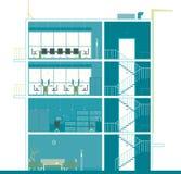 Büro-Auslegung Stockbilder