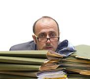 Büro Burnout Lizenzfreie Stockfotografie