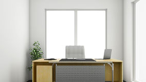 Büro 3d Lizenzfreie Stockfotos