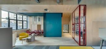 Büro in der modernen Art Lizenzfreie Stockbilder