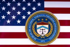 Büro des Alkohols, des Tabaks, der Feuerwaffen und der Sprengstoffe Lizenzfreie Stockfotografie