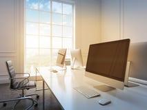 Büro des offenen Raumes Stockbilder