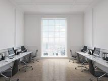 Büro des offenen Raumes Lizenzfreies Stockbild