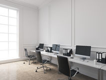 Büro des offenen Raumes Lizenzfreie Stockfotos