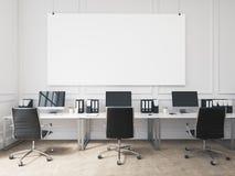 Büro des offenen Raumes Stockfotografie