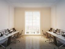 Büro des offenen Raumes Stockfoto