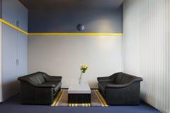 Büro-Innenraum Stockfoto