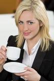 Büro-Kaffee Stockfoto