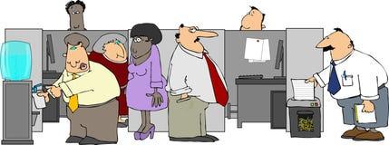 Büro-Klatsch Stockbild