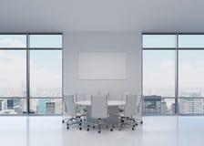 Büro mit Tabelle Lizenzfreie Stockfotos
