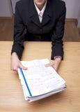 Büro-Papiere 4 Stockfotos
