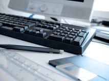 Büro-Plan 1 Lizenzfreie Stockfotos