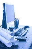 Büro-Schreibtisch Stockfotos