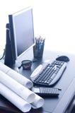 Büro-Schreibtisch Lizenzfreies Stockfoto