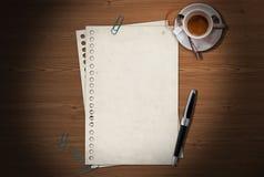 Büro-Schreibtisch Lizenzfreies Stockbild