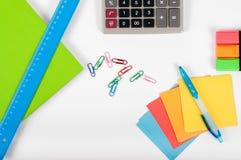 Büro, Schule, Geschäft, Bildung und Technologiekonzept - Clo Stockbild