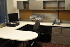 Büro-Stand Stockfotos