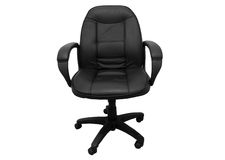 Büro-Stuhl getrennt Stockfoto