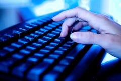 Büro-Tastatur Stockbilder