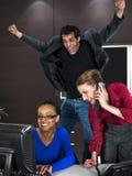 Büro-Team lizenzfreies stockfoto