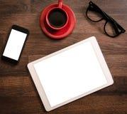 Büro- und Blogkonzept Stockfoto