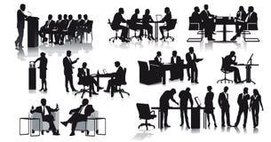Büro und Geschäftsszenen Stockfoto