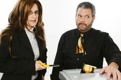 Büro-Unfall Lizenzfreies Stockfoto