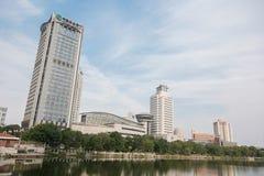 Büro von Agricultura-Bank von China auf zijinshan rd Tianjin, Chi Stockfoto
