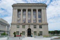 Büro von Kommissionen, von Wahlen und von Gesetzgebungs-Gebäude in Har stockbild