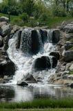 Büro-Wasserfall stockfotografie