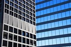 Büro Windows Stockfotos