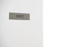 Büro-Zeichen Stockfoto