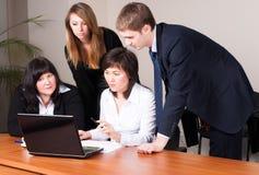 Büroangestellte im Geschäftstreffen Lizenzfreie Stockfotografie