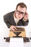 Büroangestellter. Lizenzfreie Stockfotos