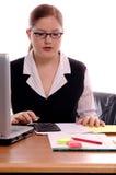 Büroangestellter lizenzfreie stockbilder