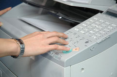 Büroangestellter lizenzfreies stockbild