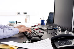 Büroarbeit Lizenzfreies Stockbild