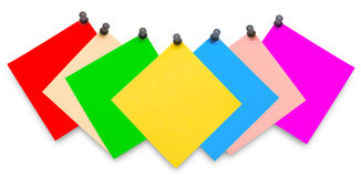 Büroaufkleber für Geschäft Lizenzfreies Stockfoto
