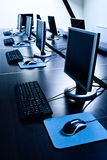 Bürocomputer stockfoto
