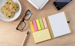 Bürodesktop Stockfoto