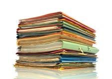 Bürodokumente lizenzfreies stockfoto