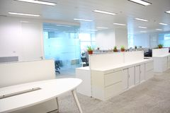Büroeinstellungen Stockbild