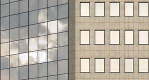 Bürofassade Lizenzfreie Stockfotos