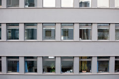 Bürofassade Stockfoto