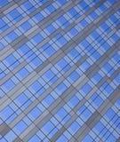 Bürofensterbeschaffenheit Lizenzfreies Stockbild