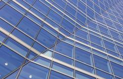 Bürofensterzusammenfassung Stockfotos
