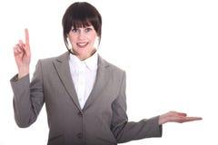 Bürofrau Lizenzfreie Stockbilder